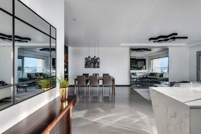 עיצוב דירה ברמת אביב 2
